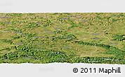 Satellite Panoramic Map of Targoviste
