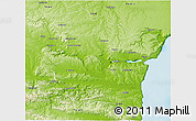 Physical 3D Map of Varna