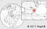 Blank Location Map of Varna