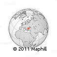 Outline Map of Varna