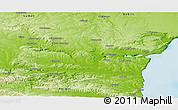Physical Panoramic Map of Varna