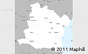 Gray Simple Map of Varna