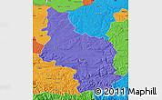 Political Map of Veliko Tarnovo