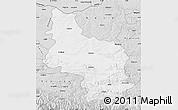 Silver Style Map of Veliko Tarnovo