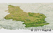 Satellite Panoramic Map of Veliko Tarnovo, lighten