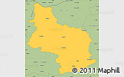 Savanna Style Simple Map of Veliko Tarnovo
