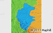 Political Map of Vidin