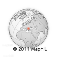 Outline Map of Vidin