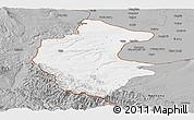 Gray Panoramic Map of Vidin