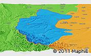 Political Panoramic Map of Vidin