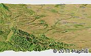 Satellite Panoramic Map of Vidin