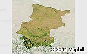Satellite 3D Map of Vraca, lighten
