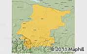Savanna Style 3D Map of Vraca