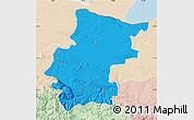 Political Map of Vraca, lighten