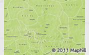 Physical Map of Kongoussi