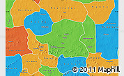 Political Map of Kongoussi