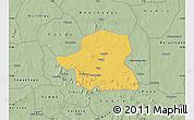 Savanna Style Map of Kongoussi