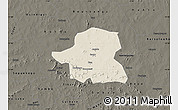 Shaded Relief Map of Kongoussi, darken