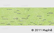 Physical Panoramic Map of Kongoussi
