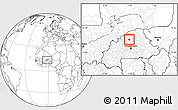 Blank Location Map of Rollo