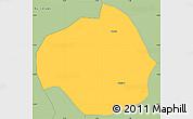 Savanna Style Simple Map of Rollo