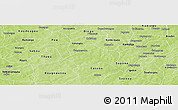 Physical Panoramic Map of Kayao