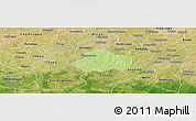 Physical Panoramic Map of Kayao, satellite outside