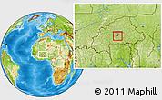 Physical Location Map of Komsilga