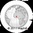 Outline Map of Koubri
