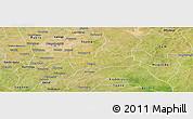 Satellite Panoramic Map of Koubri