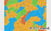 Political Map of Bazega