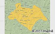 Savanna Style Map of Bazega