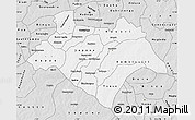 Silver Style Map of Bazega