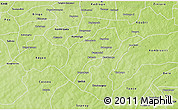 Physical 3D Map of Sapone