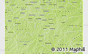 Physical Map of Sapone