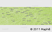 Physical Panoramic Map of Sapone