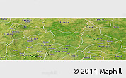 Satellite Panoramic Map of Koti