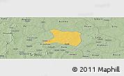 Savanna Style Panoramic Map of Koti