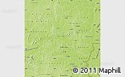 Physical Map of Bougouriba