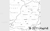 Blank Simple Map of Bougouriba