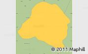 Savanna Style Simple Map of Bane