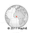 Outline Map of Beguedo