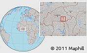 Gray Location Map of Dourtenga