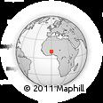 Outline Map of Ouargaye