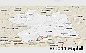 Classic Style Panoramic Map of Boulgou