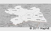 Gray Panoramic Map of Boulgou