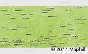 Physical Panoramic Map of Boulgou