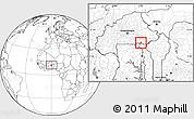 Blank Location Map of Sangha