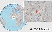 Gray Location Map of Sangha