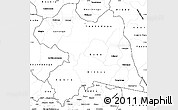 Blank Simple Map of Boulgou